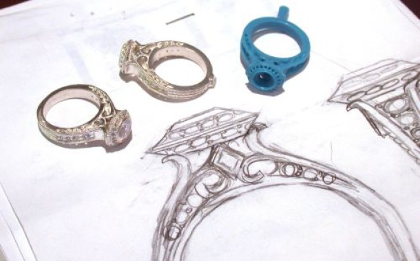 مراحل ساخت یک قطعه طلا