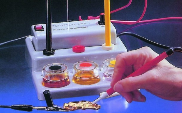آبکاری (Electroplating) و خشک کردن (Drying)